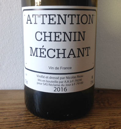 Attention Chenin Méchant - Clos des Treilles