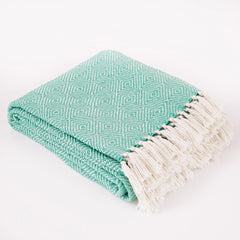 Diamond Aqua Blanket