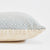 Dove Grey Hammam Cushion side view
