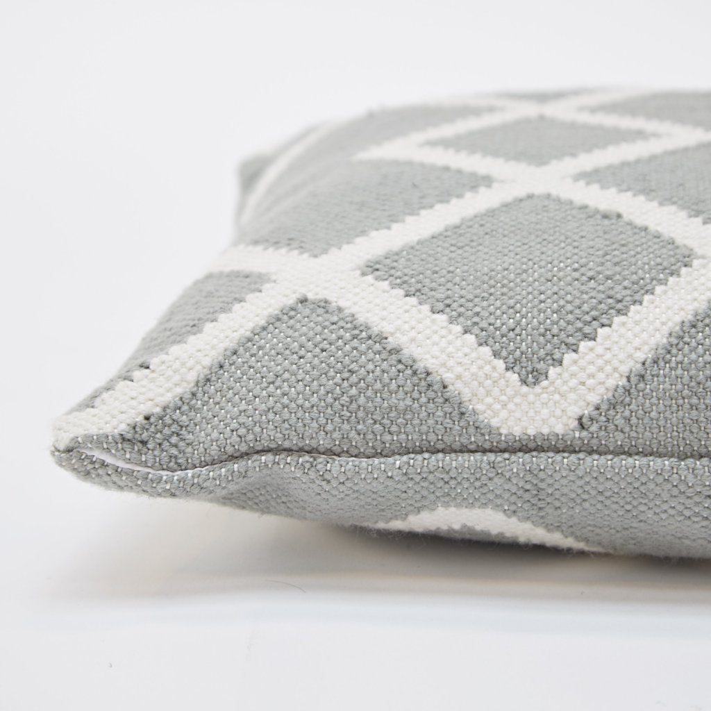 Juno Dove Grey Floor Cushion