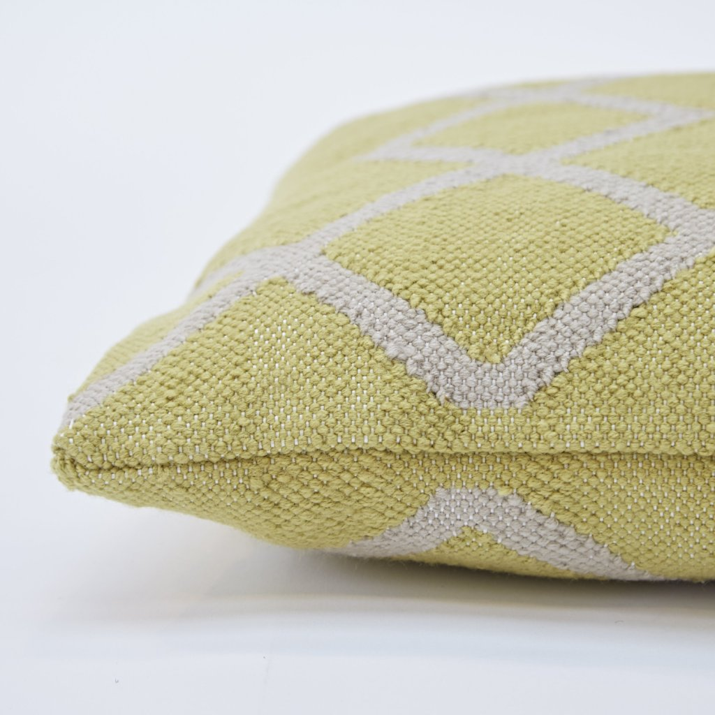 Juno Gooseberry Floor Cushion