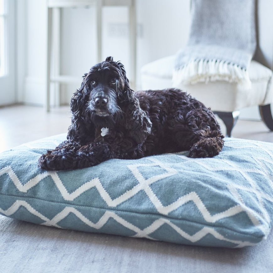 Juno Teal Floor Cushion