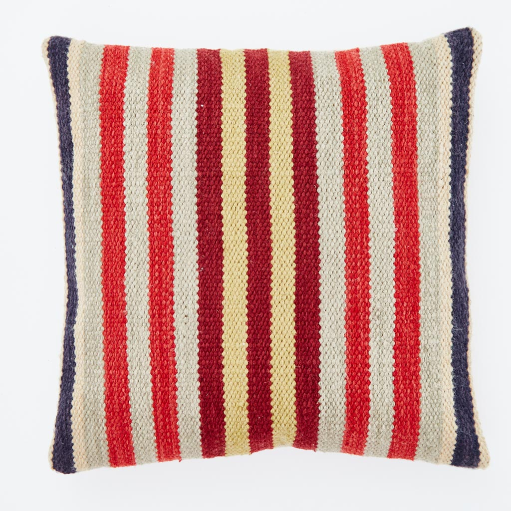 Regimental Stripe Cushion