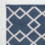 navy blue Juno Runner Rug close up