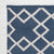 juno navy blue colour rug corner