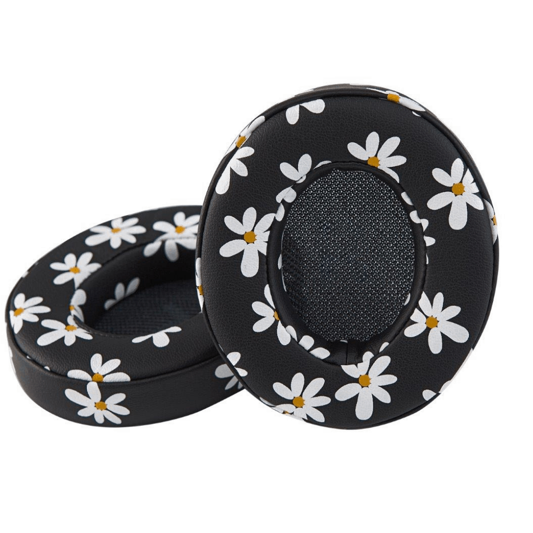 Image of   Boom Ear-cushions Floral White