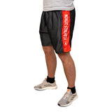 Performance shorts i mesh - Nordic Strength (Grey/Red)