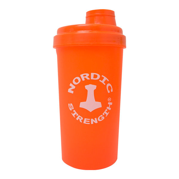 Protein shaker - nordic strength  -  orange