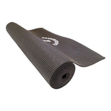 Yogamåtte 4 mm - Sort