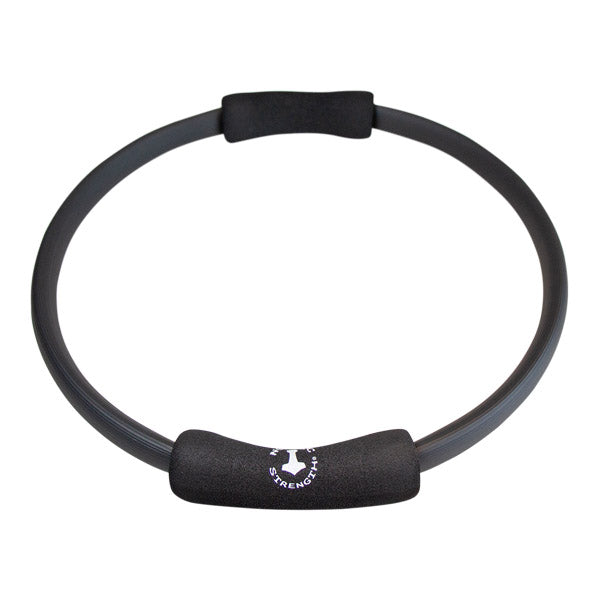 Pilates ring 38 cm (sort) Nordic Strength