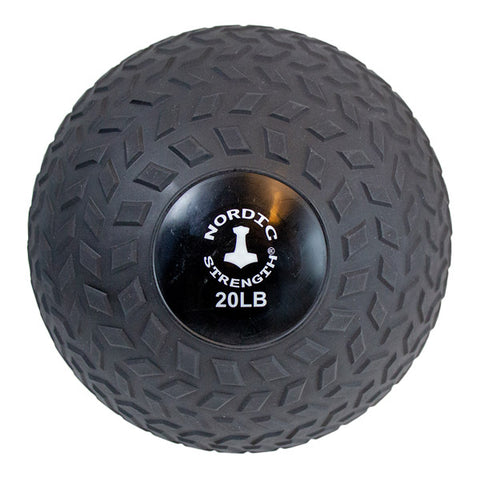 Slammerball 20 lbs - Nordic Strength Black
