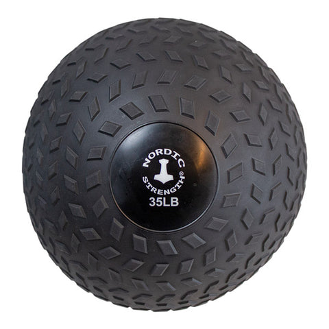 Slammerball 35 lbs - Nordic Strength Black