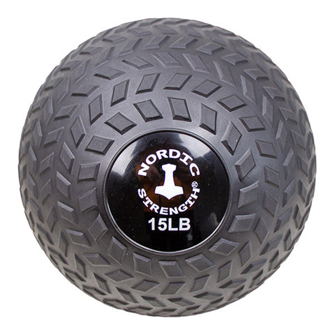 Slammerball 15 lbs - Nordic Strength Black