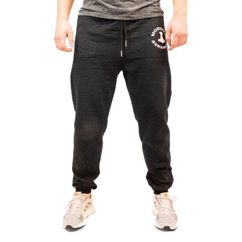 Sweatpants Basic - Sort herrebuks