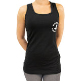 Performance black fitness top - Til kvinder