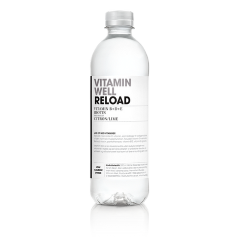 Vitamin Well Reload - Citron/Lime (12x500ml)