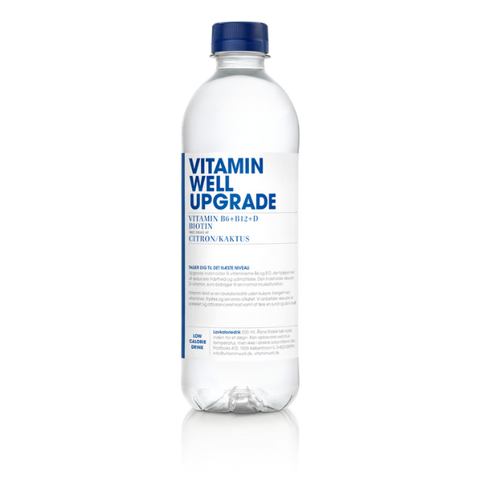 Vitamin Well Upgrade - Citrus/Kaktus (12x500ml)