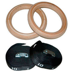 "1,25"" gymrings wood  - 1"