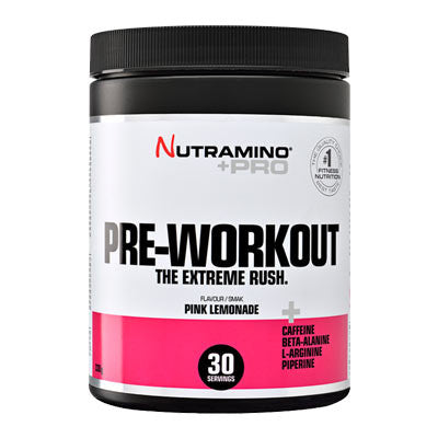 Pre-workout pink lemonade 315g