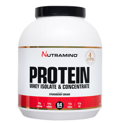 Nutramino strawberry dream proteinpulver 1800g