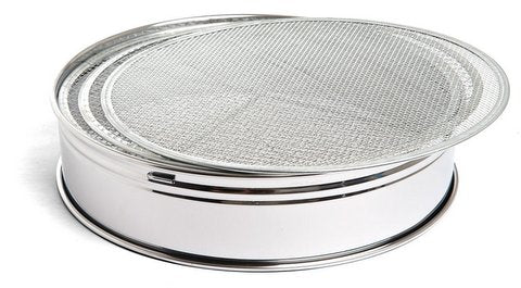 Soil sieve sets for bonsai