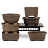 Japanese, Unglazed, Shohin Bonsai Containers -   - Pots