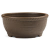 Japanese, Unglazed, Shohin Bonsai Containers -  Deep Round, 125 x 50mm - Pots
