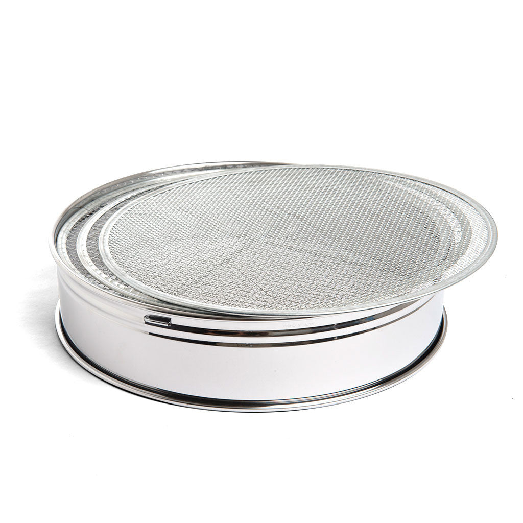 Kikuwa Stainless Steel 3 Piece Soil Sieve, 300mm -   - Tools