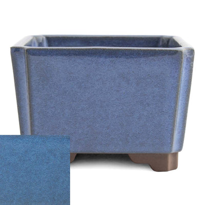 Japanese Glazed Square Container, 100 x 100 x 70mm -  Kinyou - Pots