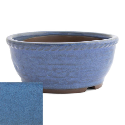 Japanese Glazed Deep Round Container, 125 x 50mm -  Kinyou - Pots