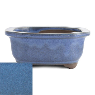 Japanese Glazed Decorative Rectangular Container, 130 x 115 x 55mm -  Kinyou - Pots