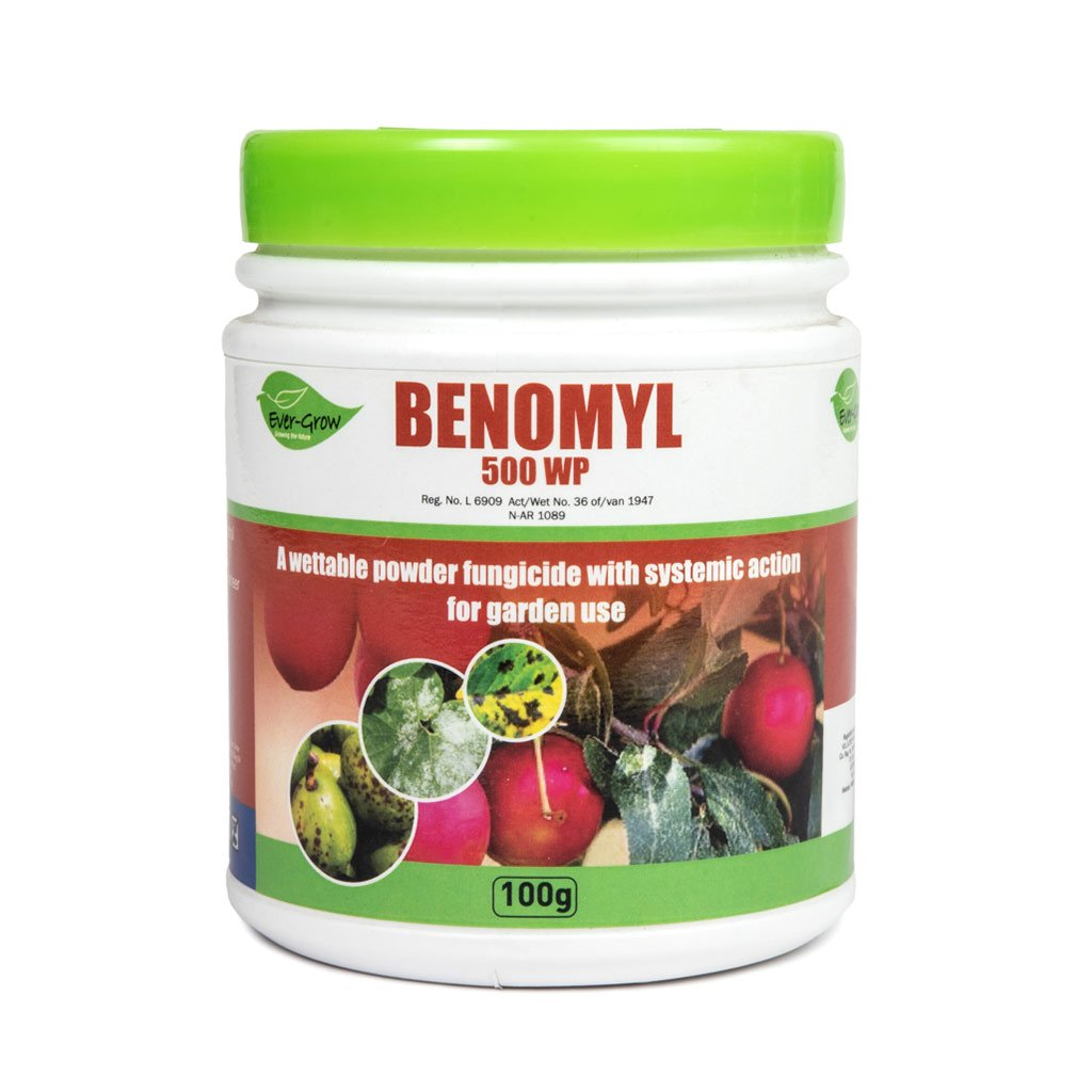 Benomyl 500 WP, 100g -   - Plant Protection