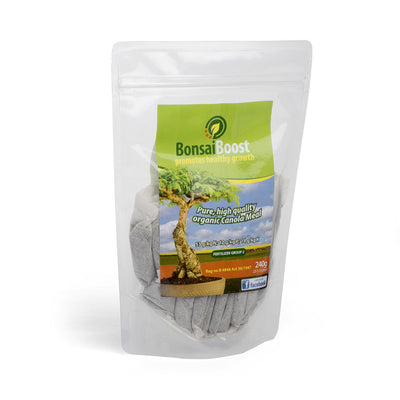 BonsaiBoost, Organic Bonsai Fertilizer -  Single bag containing 20 x 12g sachet - Fertilizers