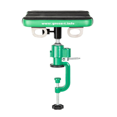 Green T Mini Bonsai Turntable -  Green T Mini with table vise - Gardening Accessories