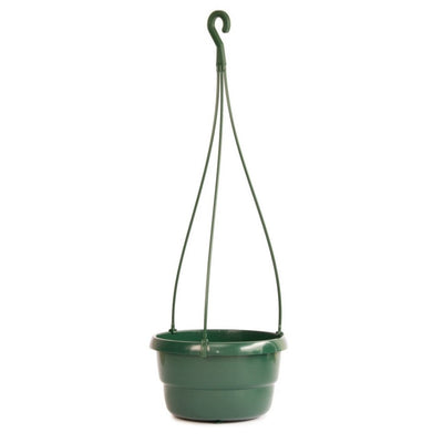 Integral Plastic Hanging Bowls -  17cm (approx. volume 1.5L) Hanging Bowl Green, SMALL - Plastics