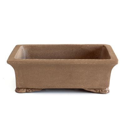"8"" Chinese Unglazed Containers -  Rectangular, 21 x 15 x 6.5cm - Pots"