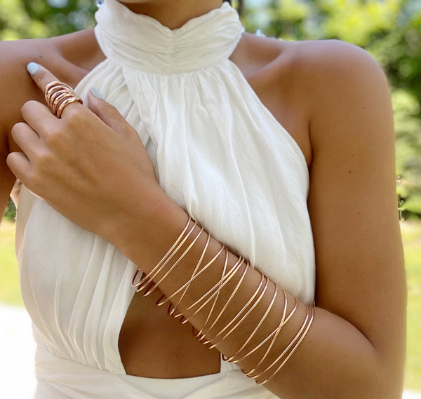 Kaylee Floating Cuff - Tall