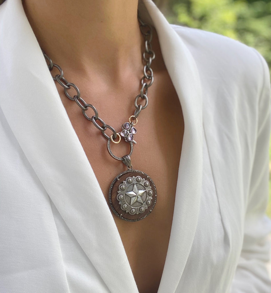 UMA Star Disc Necklace