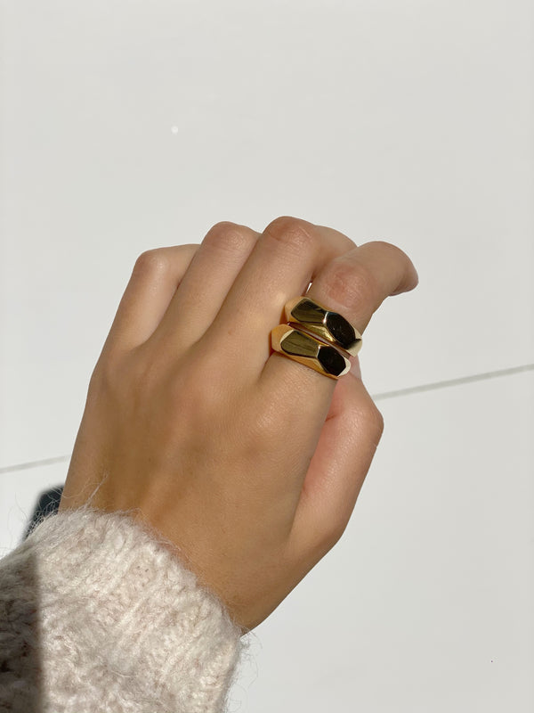 CATE Geometric Band Rings