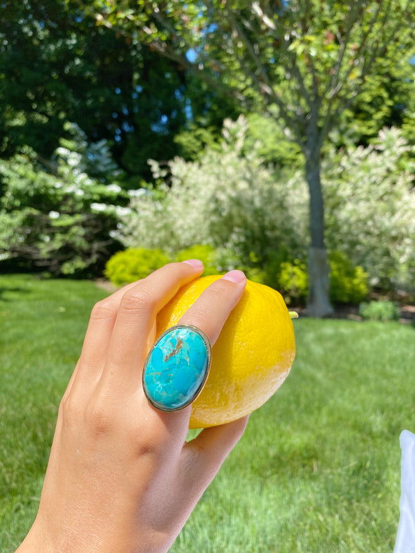 TURQ Stone Statement Ring