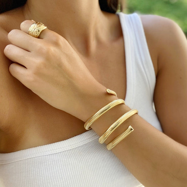 IRIS Coil Wrapped Arm Band