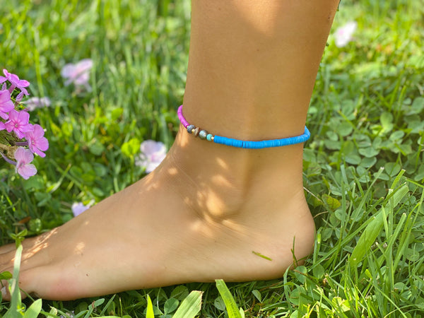LOUISE Beaded Anklet
