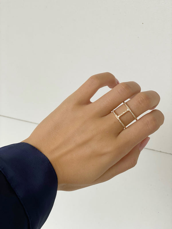 HUDSON Double Layer RIng - PRE ORDER
