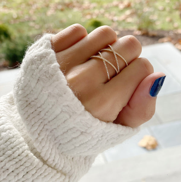SALLY Double x Ring