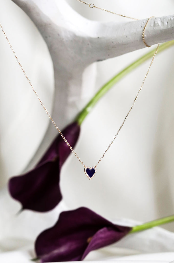 ALL LOVE Heart Necklace