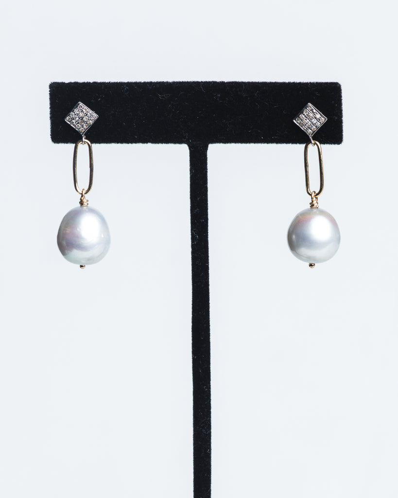 DARCI Pearl Drop Earrings