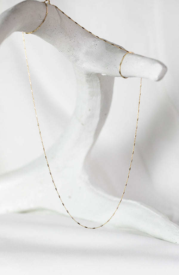 MARSH CHAIN - 14k or GOLD FILLED
