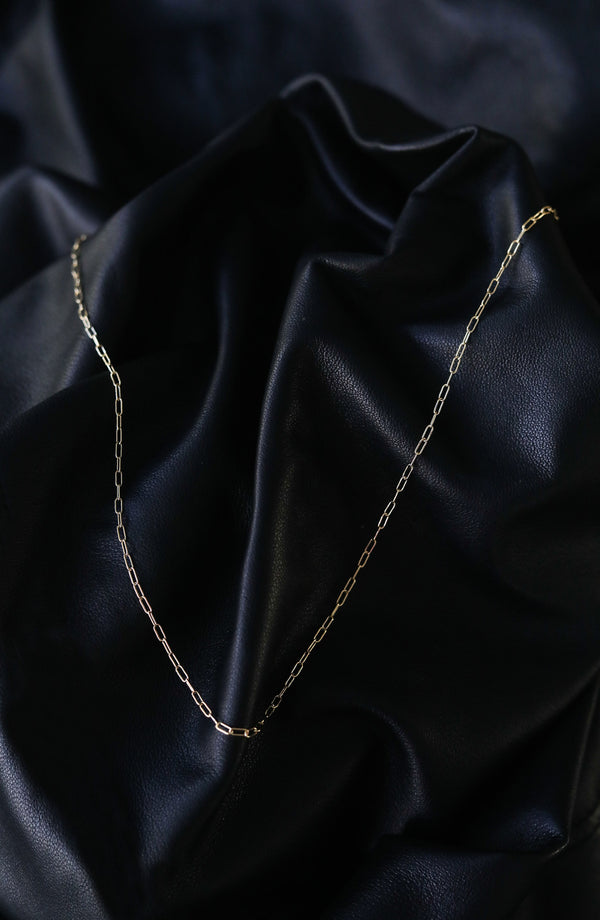 LOLA long link chain - GOLD FILLED