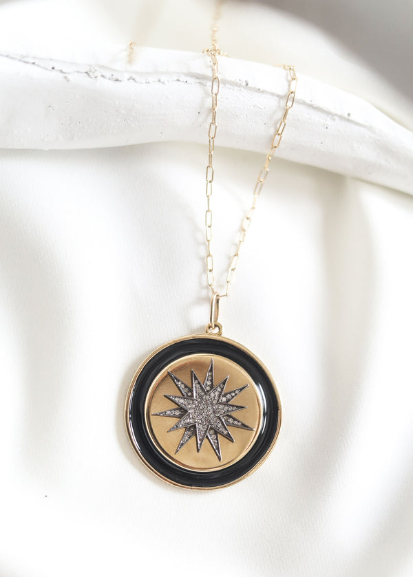 ZARAH Disc Necklace