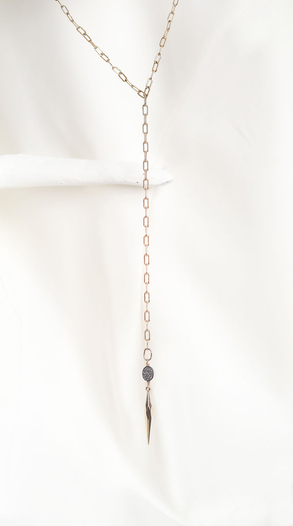 "LALA""S Point Chain Necklace"